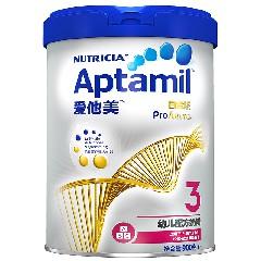 爱他美白金版Aptamil幼儿配方奶粉3段(12-36个月适用)900g(欧洲